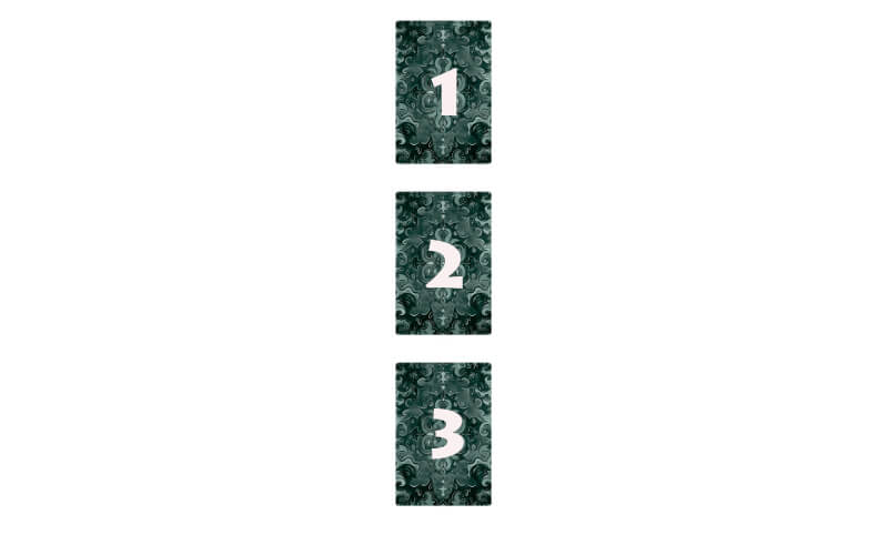 Расклад по 3-м картам - базовый способ гадания на картах Таро