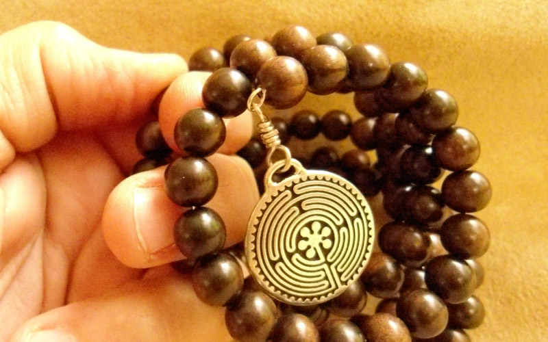 Четки для джапа медитации