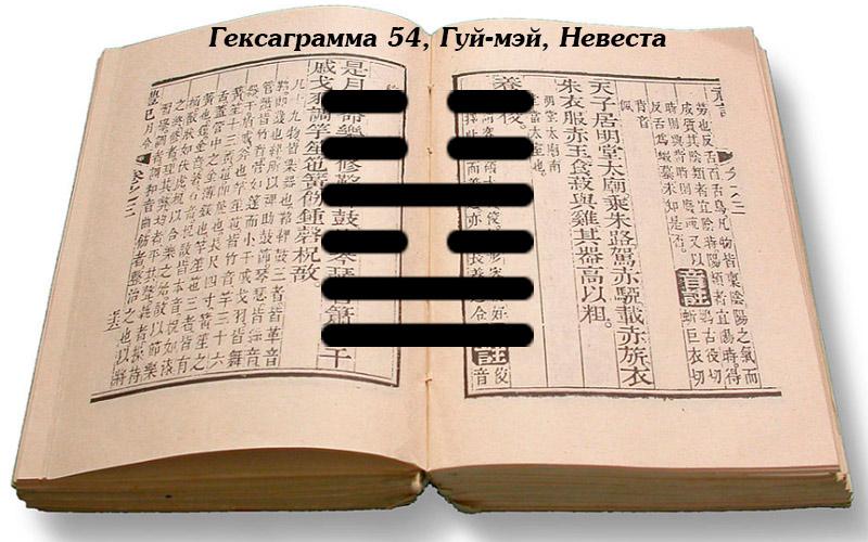 ицзин толкование гексаграмм 54