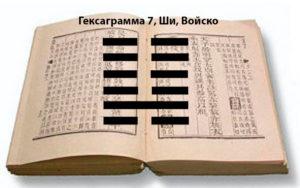 Символа 9 (войско) по китайской книге перемен