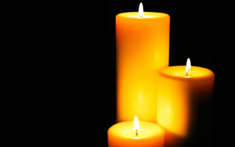 чистим позвоночник пламенем свечи