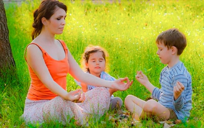 Детская медитация для деток от пяти до восьми лет