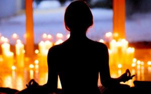 Медитация на огонь свечи