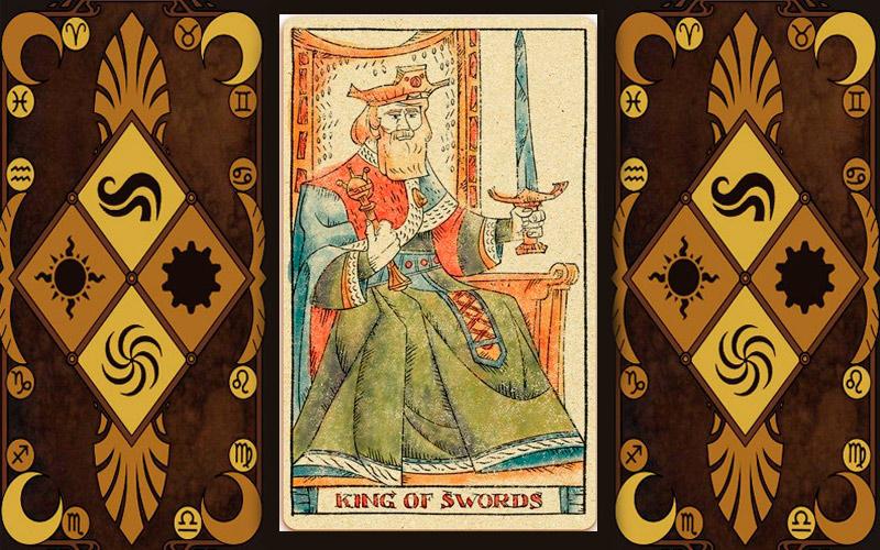 Младший аркан карт Таро - Король мечей