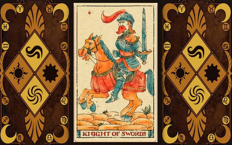 Младший аркан карт Таро - Рыцарь мечей