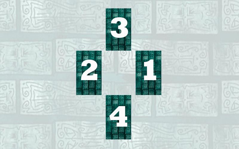 """Как сделать расклад """"Ромб"""" с помощью 4 карт Таро"""