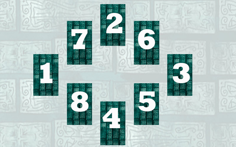 """Как провести расклад """"Ромб"""" с помощью 8 карт Таро"""