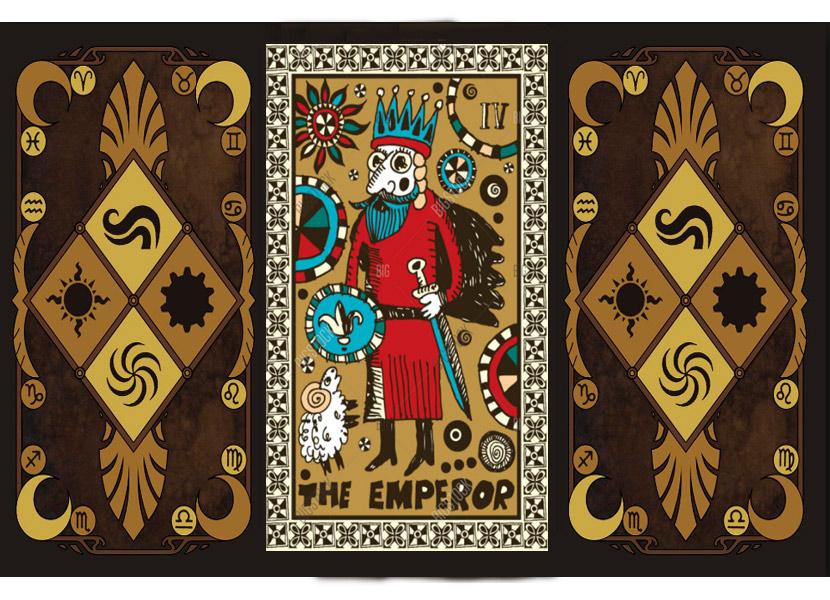 Старший аркан карт Таро - Император (Хозяин)