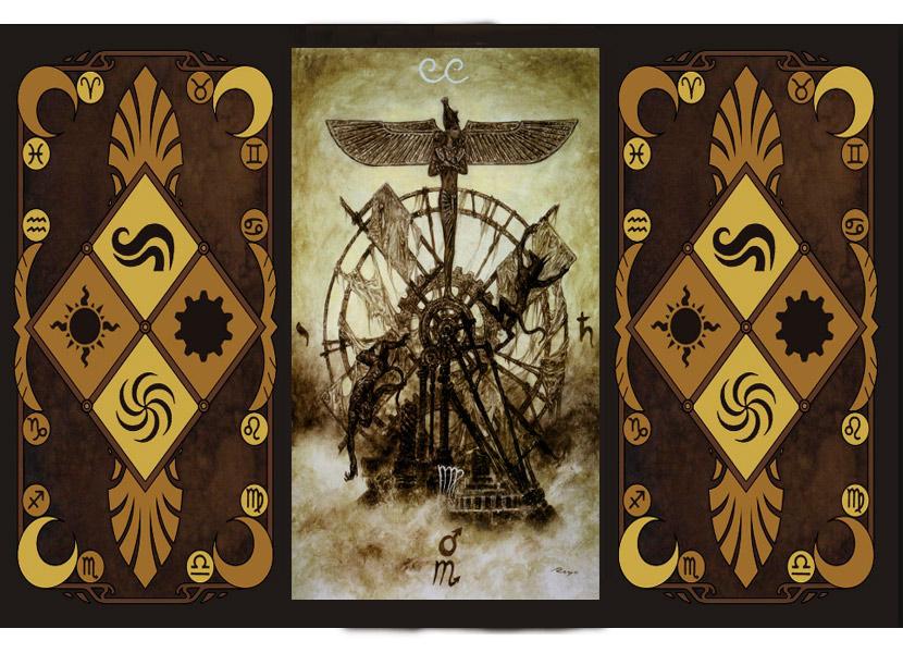 Старший аркан карт Таро - Колесо Фортуны