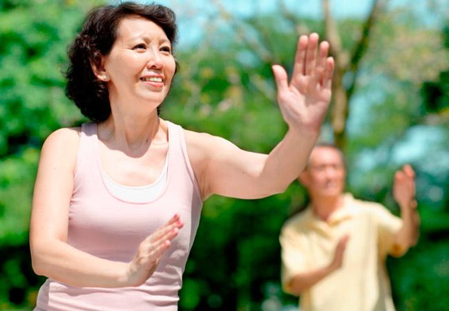 Упражнение цигун для похудения