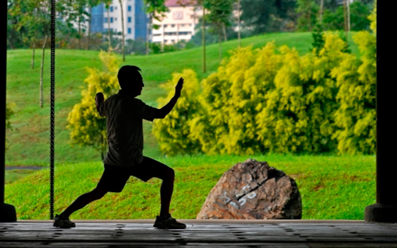 Цигун утренний - 10 минут упражнений