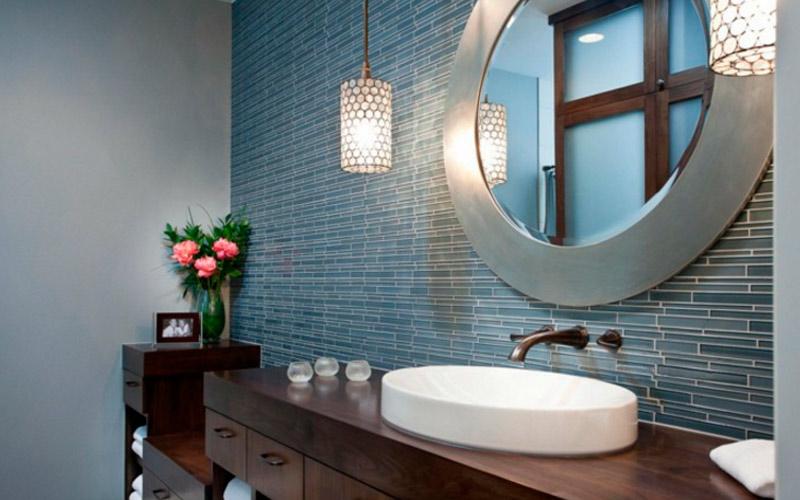 Зеркало в ванной по феншуй